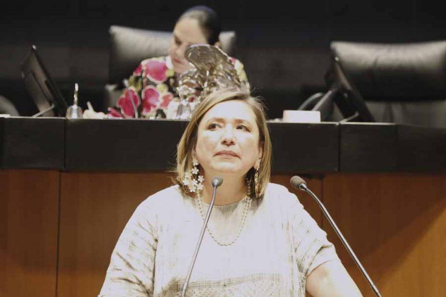 Intervención de la senadora Xóchitl Gálvez Ruiz, al participar en la discusión de un dictamen de la Comisión de Energía, por el que se valida la idoneidad de María del Rosío Vargas Suárez, al cargo de consejera independiente del Consejo de Administración de la Comisión Federal de Electricidad, para el período que abarca desde su aprobación hasta el 16 de septiembre de 2024.