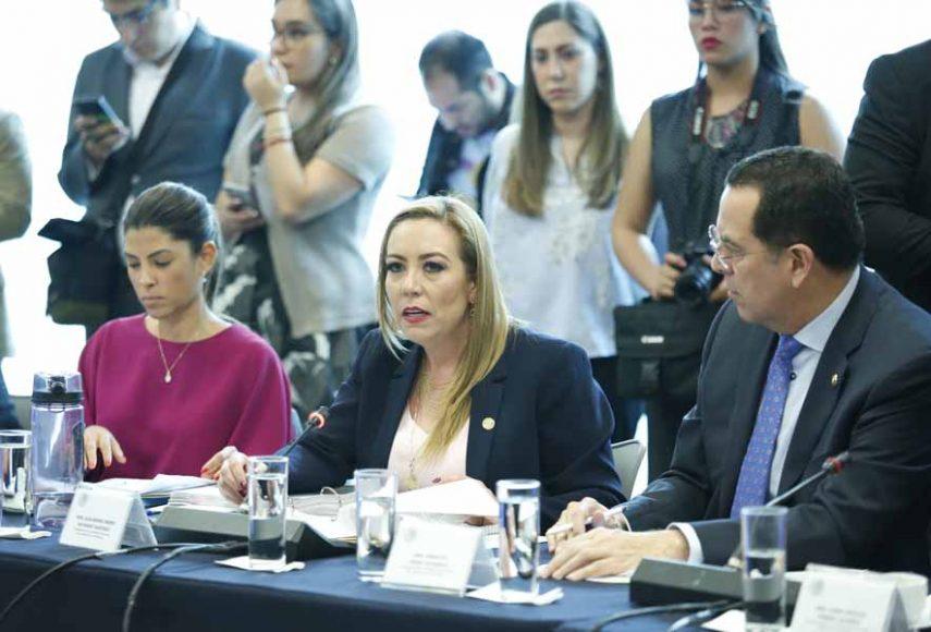 Intervención de la senadora Alejandra Reynoso Sánchez, al pronunciarse en contra del anteproyecto de dictamen de las comisiones unidas de Justicia, de Salud y de Estudios Legislativos Segunda, con opinión de la Comisión de Seguridad Pública, por el que se expide la Ley para la Regulación del Cannabis y se reforman diversas disposiciones de la Ley General de Salud y del Código Penal Federal.