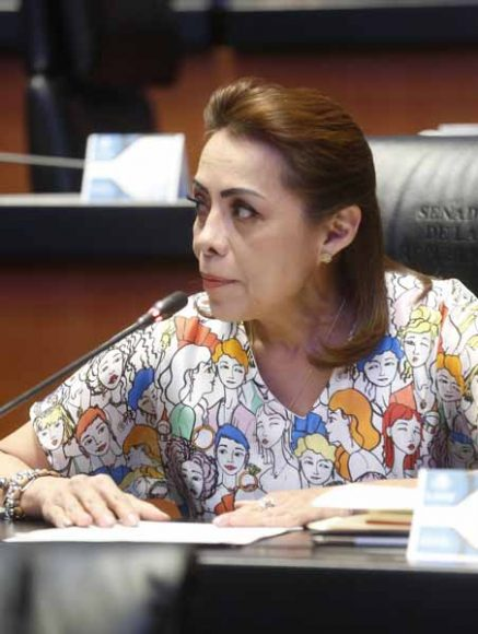 Intervención desde su escaño de la senadora Josefina Vázquez Mota para reconocer el compromiso del Inegi en el censo de población 2020 por tomar en cuenta a personas con enfermedades mentales; y sobre la Comisión Especial para dar Seguimiento a Feminicidios de Niñas y Adolescentes.