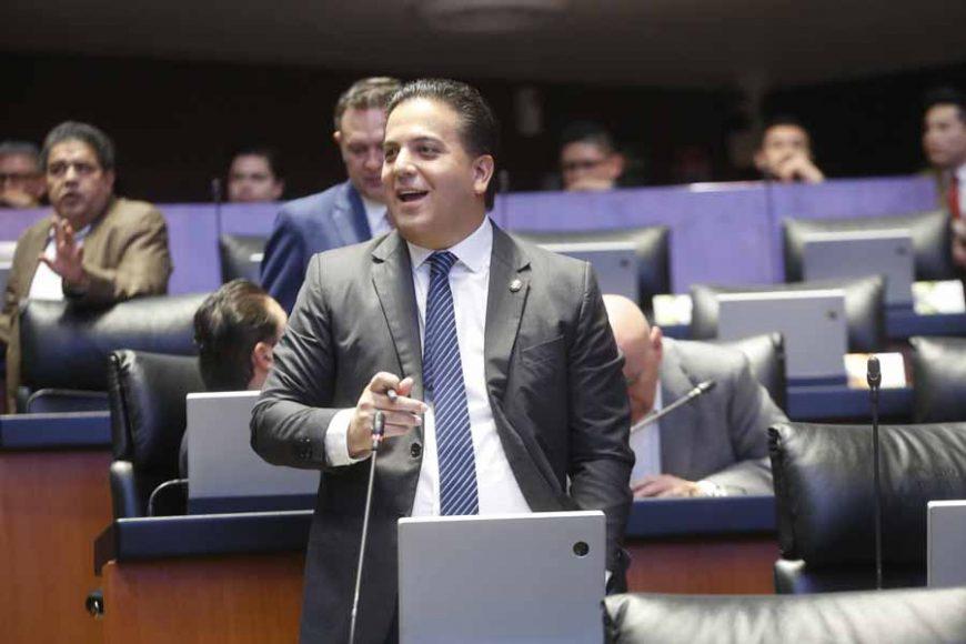 Intervención desde su escaño del senador Damián Zepeda Vidales para referirse al proyecto de presupuesto de enero, febrero y marzo del 20202 de la Cámara de Senadores.