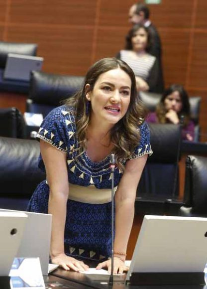 Intervención de la senadora Martha Cecilia Márquez Alvarado, desde su escaño, al solicitar que el Senado se pronuncie sobre la problemática de salud que vive el país