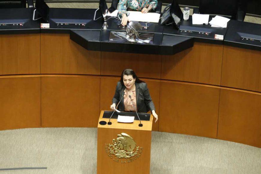 Intervención en tribuna de la senadora Guadalupe Saldaña Cisneros, para presentar reservas a un dictamen de las Comisiones Unidas de Puntos Constitucionales; y de Estudios Legislativos, Segunda, el que contiene proyecto de decreto por el que se reforma y adiciona el artículo 4o. de la Constitución Política de los Estados Unidos Mexicanos