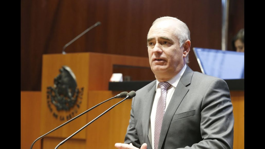 Senador Julen Rementería, sobre los candidatos a comisionados de la Comisión Reguladora de Energía