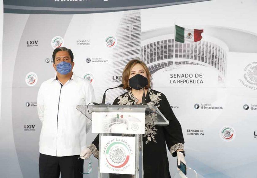 Denuncia Xóchitl Gálvez censura en el Senado por pedir apoyo a Pymes