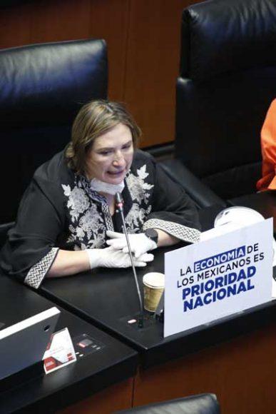 Senadora Xóchitl Gálvez Ruiz para solicitar se modifique el orden del día para incorporar iniciativa del PAN.