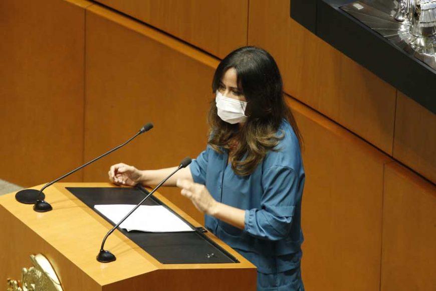 Intervención de la senadora Indira Rosales San Román, al participar en la discusión de un dictamen de las comisiones unidas de Gobernación y de Estudios Legislativos Segunda sobre la Ley de Amnistía.