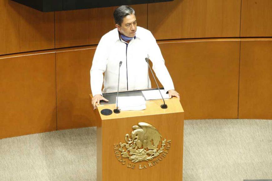 Senador Marco Antonio Gama Basarte para hablar en contra del dictamen de Ley de Amnistía