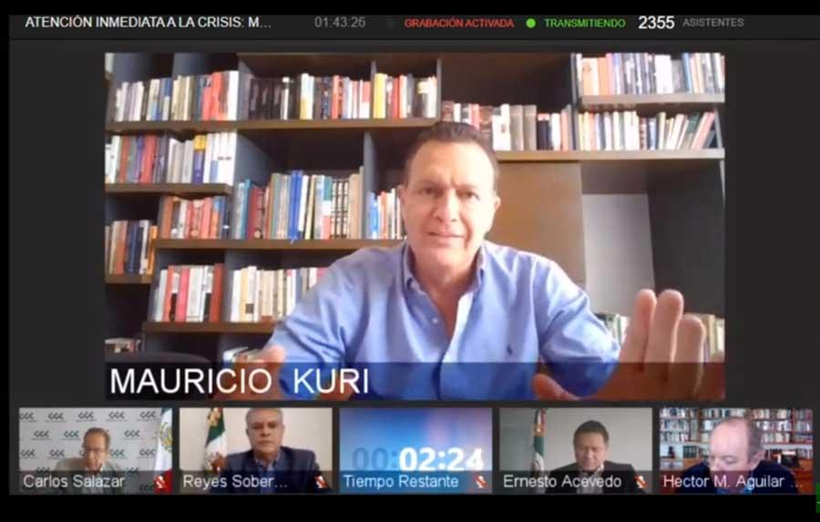 Nos queda poco tiempo, debemos avanzar rápido para atender la contingencia económica y de salud: Mauricio Kuri
