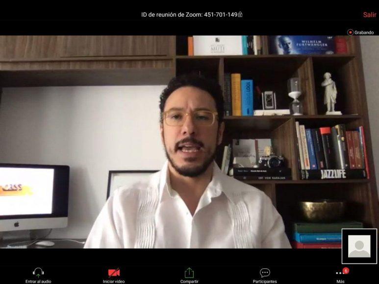 """Participación de la senadora Xóchitl Gálvez Ruiz, al inaugurar el foro digital """"Consejos laborales para Pymes en tiempos de emergencia""""."""