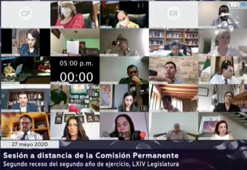 Sesión de la Comisión Permanente