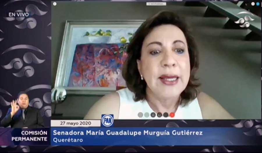 Intervención en tribuna de la senadora Guadalupe Murguía Gutiérrez al presentar iniciativa con proyecto de decreto que expide la Ley de Emergencia y Recuperación Económica derivada de caso fortuito, fuerza mayor o contingencia sanitaria, reglamentaria del artículo 25 de la Constitución Política de los Estados Unidos Mexicanos.