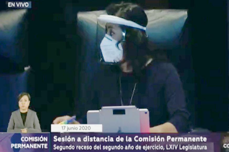 Senadora Murguía explica la agenda del GPPAN para la sesión de la Comisión Permanente