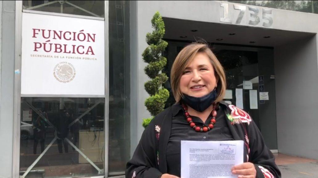 Solicita Xóchitl Gálvez auditoría voluntaria de la evolución patrimonial de Irma Eréndira Sandoval por inconsistencias en su declaración