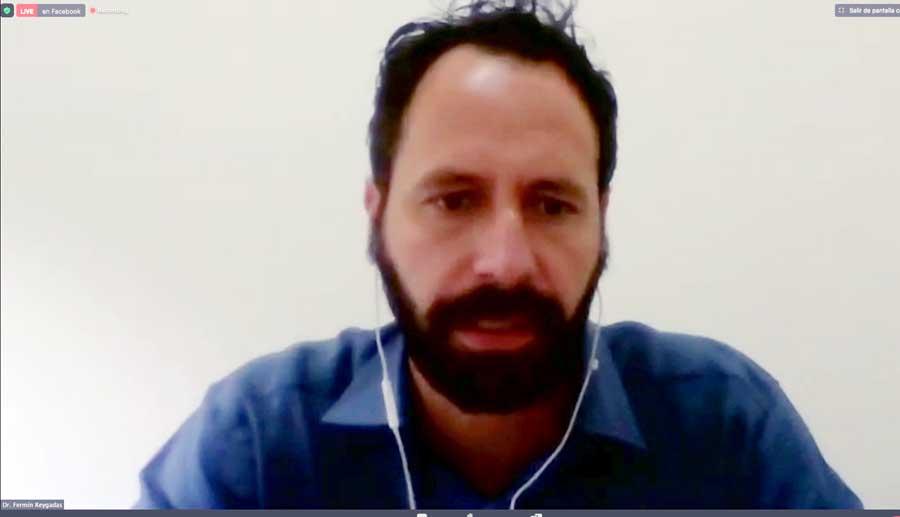 """Discurso del senador panista y presidente de la Comisión de Recursos Hidráulicos, Raúl Paz Alonzo, durante la inauguración del foro virtual """"Iniciativas y propuestas de cambio para enriquecer el marco jurídico del agua""""."""