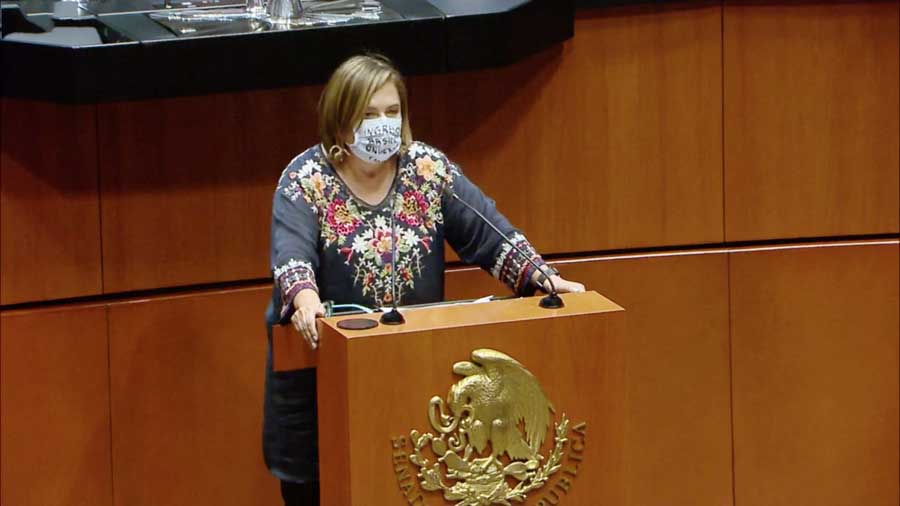 Intervención de la senadora Xóchitl Gálvez Ruiz, al presentar reservas al proyecto por el que se reforman y adicionan diversas disposiciones de la Ley Federal de Derecho de Autor.