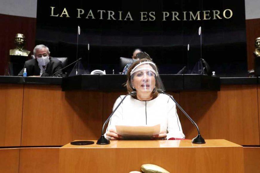 Intervención desde la tribuna de la senadora Guadalupe Murguía Gutiérrez para referirse al proyecto de decreto por el cual se convoca a celebrar un periodo extraordinario de sesiones del Congreso de la Unión.