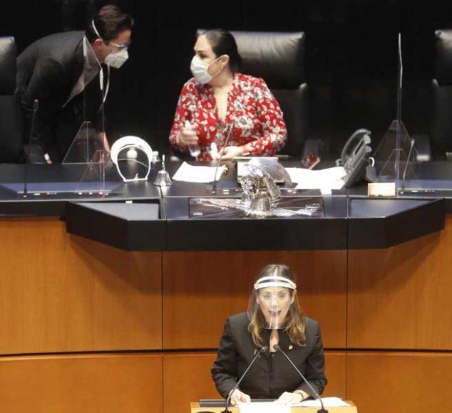 Intervención de la senadora Gina Andrea Cruz Blackledge, al presentar un dictamen de las comisiones unidas de Relaciones Exteriores-América del Norte, de Relaciones Exteriores y de Medio Ambiente, Recursos Naturales y Cambio Climático, por el que se propone la aprobación del Acuerdo en Materia de Cooperación Ambiental entre los gobiernos de los Estados Unidos Mexicanos, de los Estados Unidos de América y de Canadá, firmado en las ciudades de México, Washington D.C. y Ottawa el 30 de noviembre, el 11 y el 18 de diciembre de 2018, respectivamente.