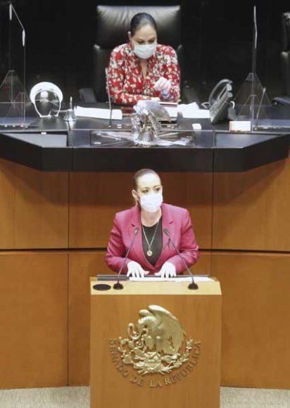 Intervención de la senadora Alejandra Reynoso Sánchez para referirse al dictamen de las comisiones unidas de Relaciones Exteriores-América del Norte, de Relaciones Exteriores y de Medio Ambiente, Recursos Naturales y Cambio Climático, por el que se propone la aprobación del Acuerdo en Materia de Cooperación Ambiental entre los gobiernos de los Estados Unidos Mexicanos, de los Estados Unidos de América y de Canadá, firmado en las ciudades de México, Washington D.C. y Ottawa el 30 de noviembre, el 11 y el 18 de diciembre de 2018, respectivamente.