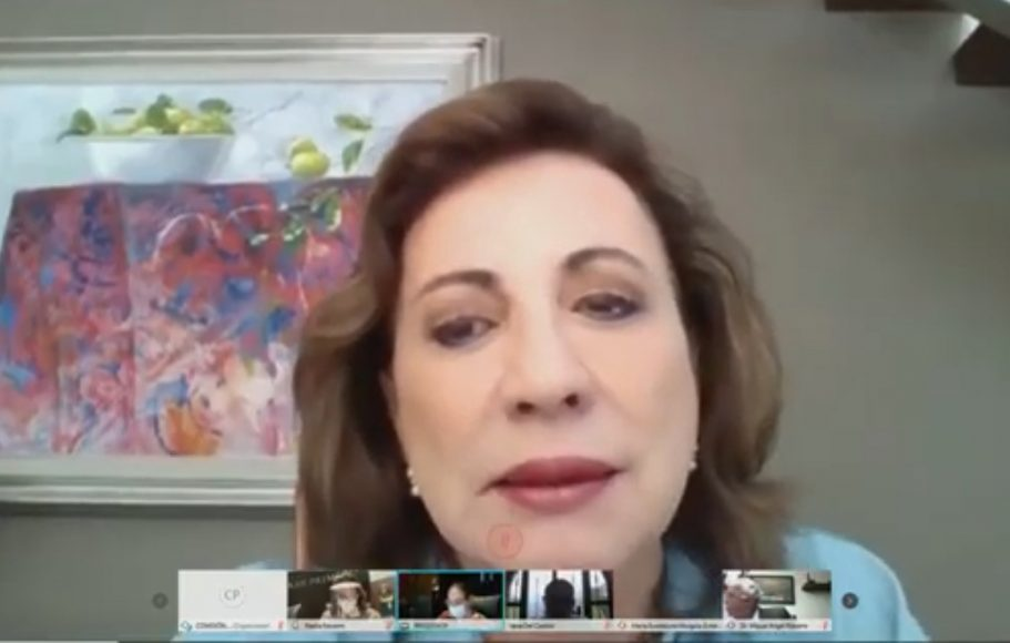 """Senadora Guadalupe Murguía Gutiérrez, para referirse al """"regreso a la nueva normalidad en México"""""""