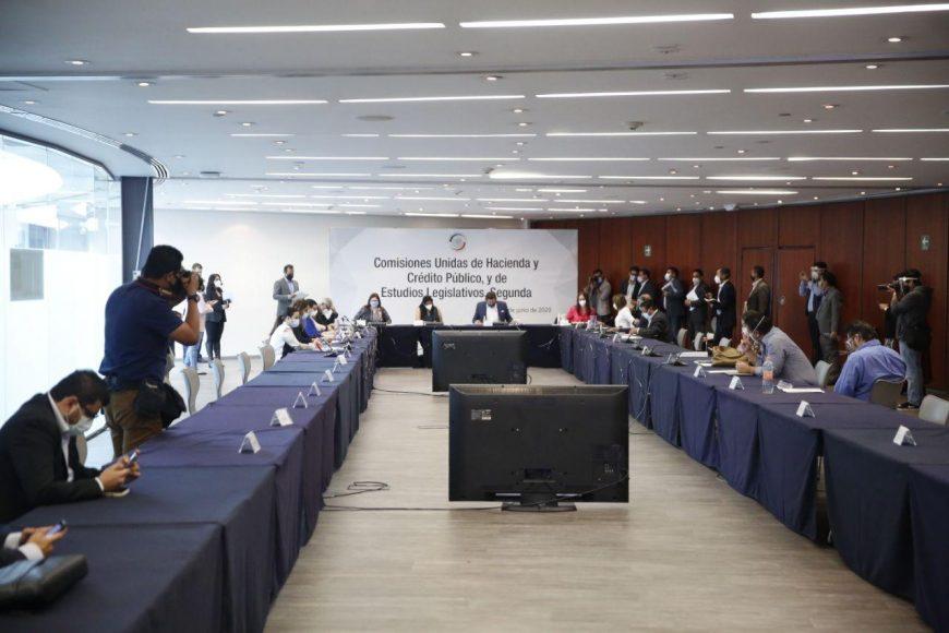 Reunión de comisiones Unidas de Hacienda y Crédito Público y de Estudios Legislativos Segunda.