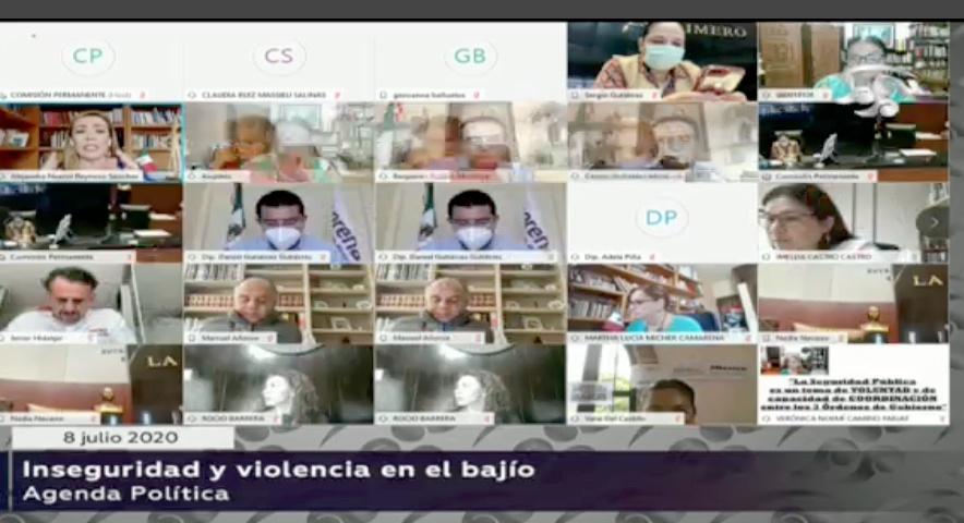 Senadora Alejandra Reynoso Sánchez, al intervenir en la sesión de la Permanente