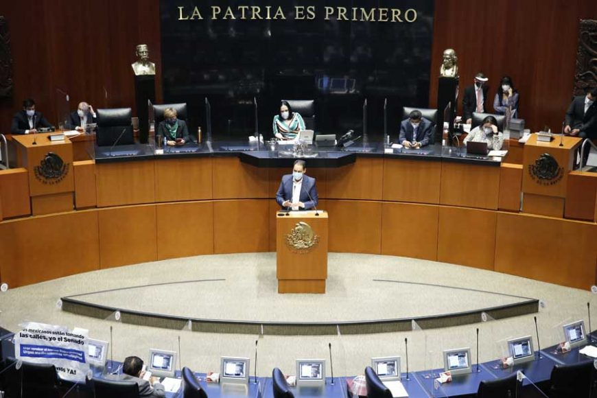 Intervención en tribuna del senador Juan Antonio Martín del Campo Martín del Campo para referirse al dictamen de la Comisión de Justicia, el que contiene Acuerdo por el que dicha Comisión devuelve el asunto turnado por la Mesa Directiva el 16 de octubre 2018, relativo al proceso de designación de un Magistrado de Sala Regional Especializada del Tribunal Electoral del Poder Judicial de la Federación.