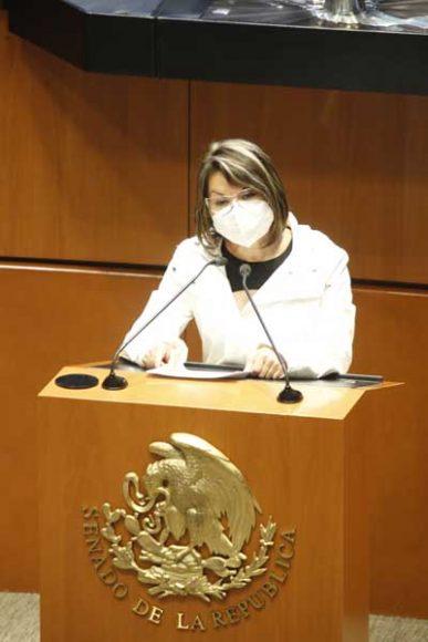 Intervención de la senadora Minerva Hernández Ramos, al participar en la discusión de la minuta con proyecto de decreto que adiciona un párrafo quinto al artículo 1o. de la Ley de Adquisiciones, Arrendamientos y Servicios del Sector Público.