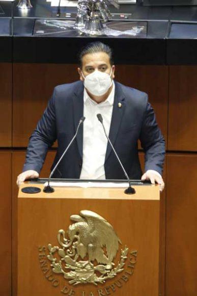 Senador Damián Zepeda Vidales, al presentar reservas a la modificación de la Ley de Adquisiciones, Arrendamientos y Servicios del Sector Público.