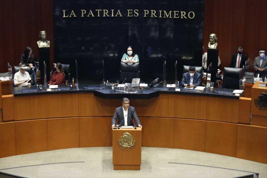 Intervención en tribuna del senador Víctor Fuentes Solís, durante la discusión de un dictamen que reforma y adiciona el artículo 167 del Código Nacional de Procedimientos Penales y demás disposiciones legales para incluir los tipos penales que ameritan prisión preventiva oficiosa.