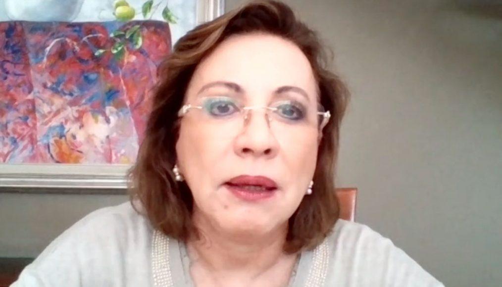 Participación de la senadora Guadalupe Murguía Gutiérrez, durante la conferencia del Grupo Parlamentario del PAN, en la que dio a conocer una denuncia ante la Secretaría de la Función Pública en contra del subsecretario de Salud Hugo López-Gatell