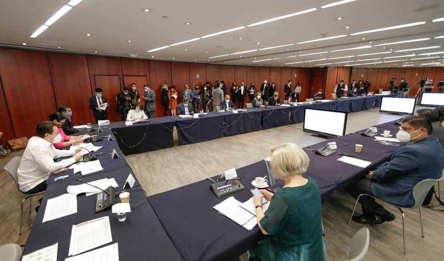 Participación de la senadora Xóchitl Gálvez Ruiz, durante la reunión de la Tercera Comisión, Hacienda y Crédito Público, Agricultura y Fomento, Comunicaciones y Obras Públicas.