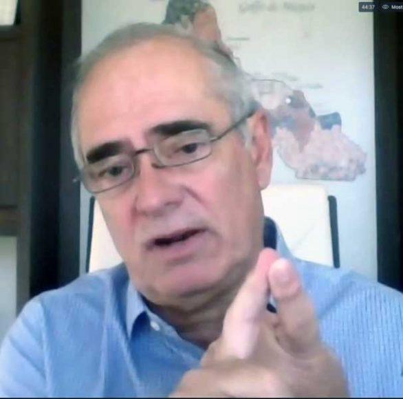 Senador Julen Rementería habla en conferencia de prensa sobre la concesión del Puerto de Veracruz