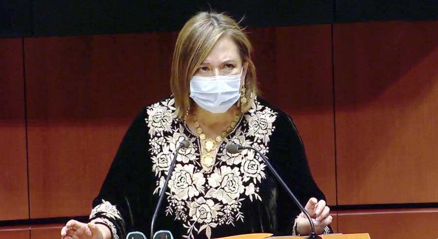 Intervención en tribuna de la senadora Xóchitl Gálvez Ruiz para referirse a los puntos de acuerdo de la Primera Comisión de la Comisión Permanente.