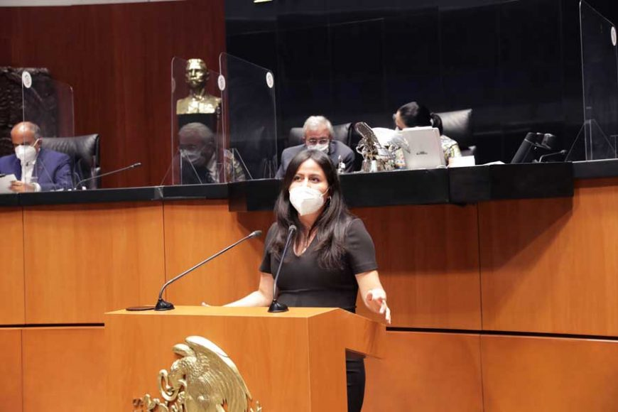 Intervención de la senadora Indira Rosales San Román, al participar en la discusión de diversos dictámenes de la Tercera Comisión de la Comisión Permanente.