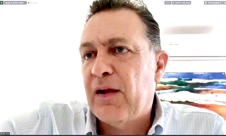 Mauricio Kuri responde a medios sobre Mesa Directiva, Informe, sesiones virtuales y otros temas