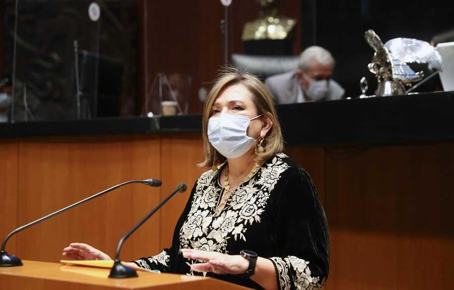 Senadora Xóchitl Gálvez, reconoce la importancia del teletrabajo y la contrucción de ciclovías