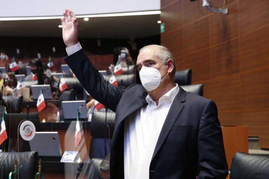 Versión de la intervención desde su escaño del senador Julen Rementería Del Puerto