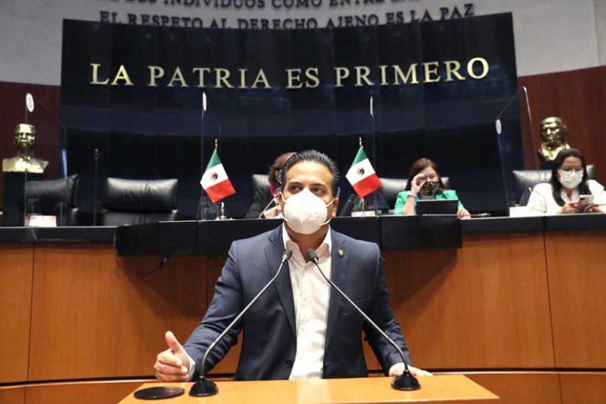 Intervención en tribuna del senador Damián Zepeda Vidales, para presentar iniciativa con proyecto de decreto por el que se reforma el artículo 105 de la Constitución Política de los Estados Unidos Mexicanos.