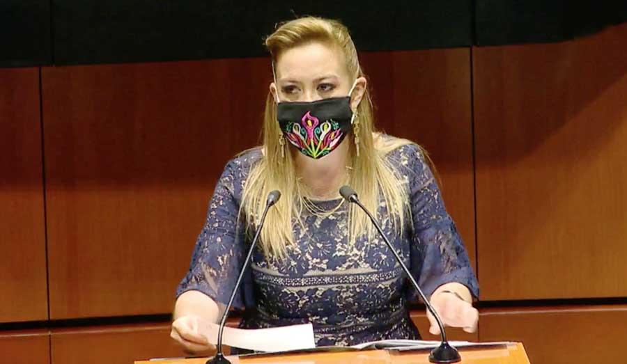 Intervención en tribuna de la senadora Alejandra Noemí Reynoso Sánchez, para presentar punto de acuerdo por el que se exhorta al titular de la Secretaría de Comunicaciones y Transporte a realizar las acciones necesarias para otorgar servicio de internet gratuito para estudiantes de educación básica.