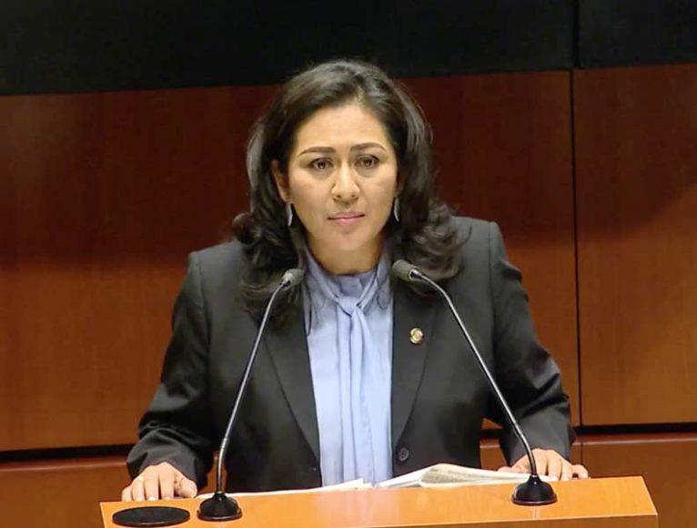 senadora Nadia Navarro Acevedo para presentar dictamen que reforma los artículos 201, primer párrafo, y 205, primer párrafo, de la Ley del Seguro Social en materia de servicios de guardería para hijas e hijos de padres varones
