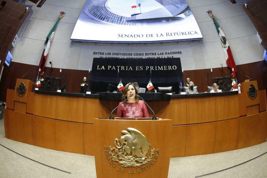 Versión de la intervención en tribuna de la senadora Gina Cruz Blackledge, para referirse al análisis del II Informe de Gobierno del Presidente de la República, en materia de política exterior