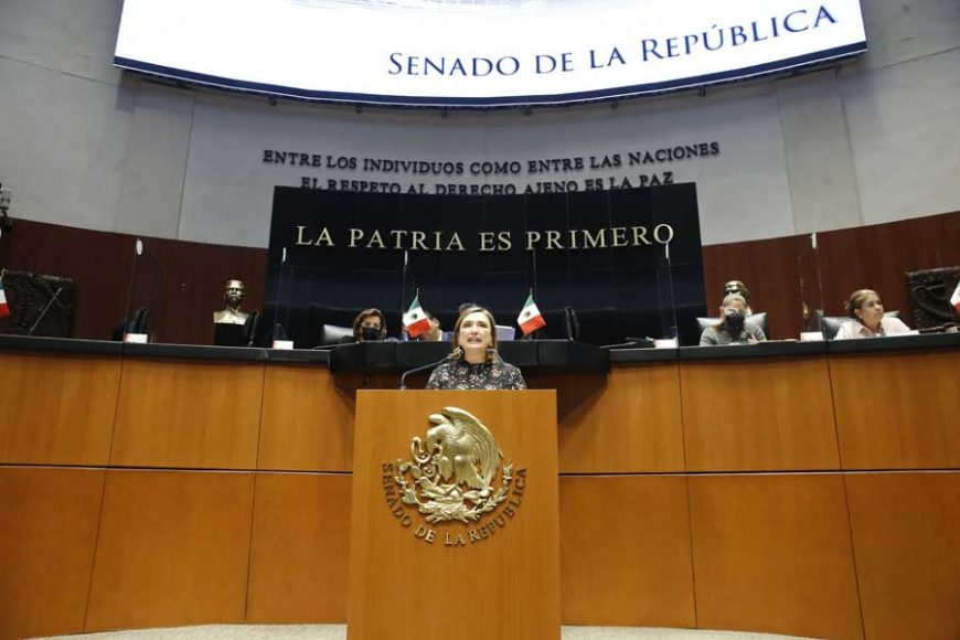 Senadora Xóchitl Gálvez Ruiz, para presentar iniciativa con proyecto de decreto por el que se reforman los artículos 9º, fracciones I y IV; 10 Ter, primero y segundo párrafos y se adicionan los incisos a), b) y c), al primer párrafo de la fracción IV del artículo 10 Bis, recorriéndose el subsiguiente, todos de la Ley de la Comisión Nacional de los Derechos Humanos; así como se reforma el artículo 61, fracción VII de la Ley de Amparo, Reglamentaria de los artículos 103 y 107 de la Constitución Política de los Estados Unidos Mexicanos.