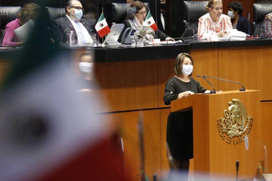 Intervención en tribuna de la senadora Minerva Hernández Ramos, para referirse al análisis del segundo Informe de Gobierno, en materia de Política Económica.