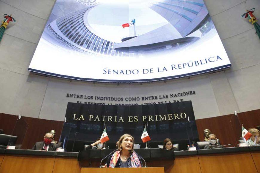 Intervención de la senadora Xóchitl Gálvez Ruiz, al participar en la discusión de un dictamen de la Comisión de Zonas Metropolitanas y Movilidad, por el que se exhorta a los gobiernos de las 32 entidades federativas a realizar las acciones necesarias, a fin de salvaguardar los derechos de las personas con discapacidad.