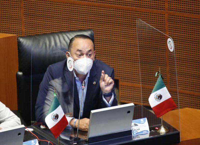 Intervención desde su escaño, del senador Erandi Bermúdez Méndez, para referirse a las comparecencias de funcionarios del sector salud
