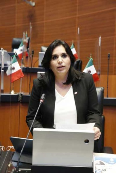 Intervención, desde su escaño, de la senadora Mayuli Latifa Martínez Simón, al referirse a tres dictámenes de la Comisión de Federalismo y Desarrollo Municipal