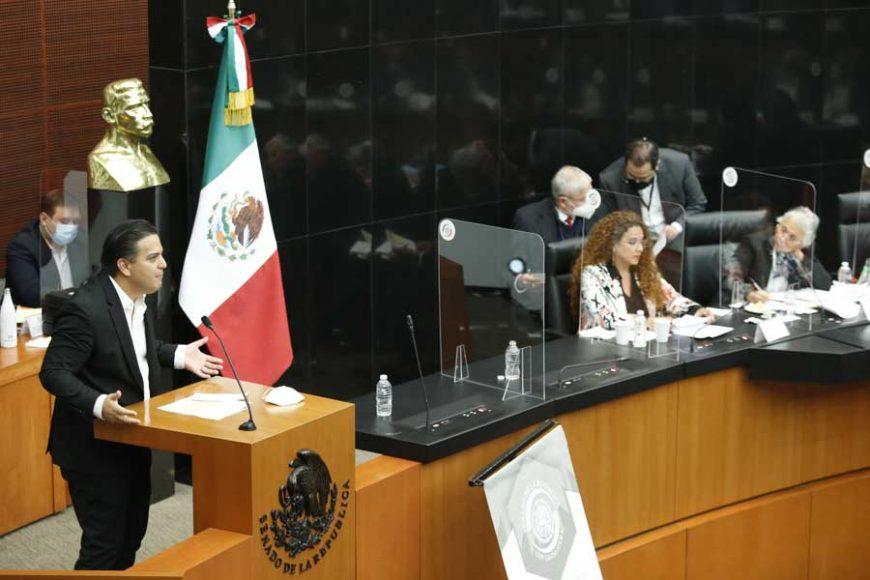 Intervención del senador Damián Zepeda Vidales durante la comparecencia de la secretaria de Gobernación, Olga Sánchez Cordero, con motivo del análisis del Segundo Informe de Gobierno.