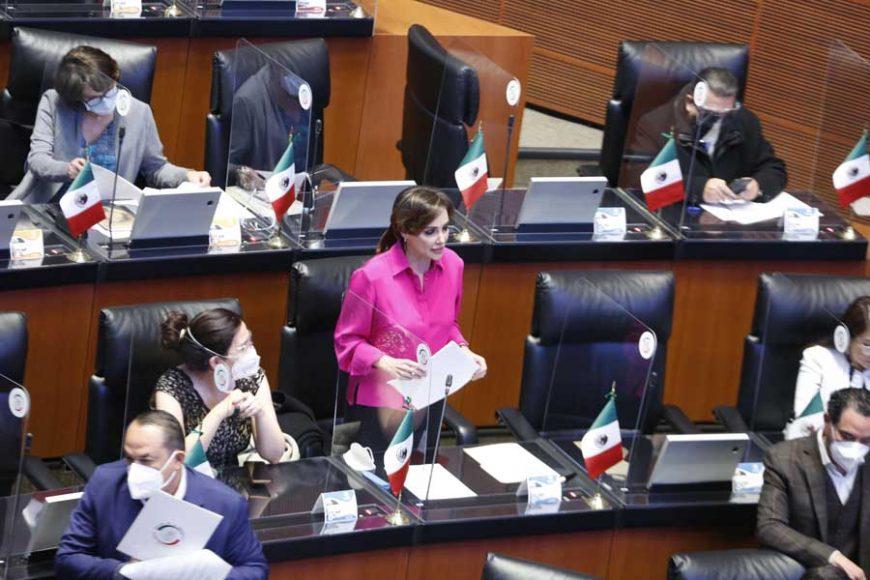 Senadora Lilly Téllez llama a diputados federales para que no desaparezcan fideicomisos públicos