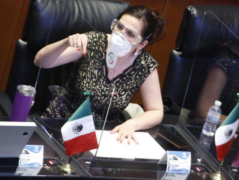Senadora Kenia López denuncia la destrucción de 109 fideicomisos por parte del Gobierno de Morena
