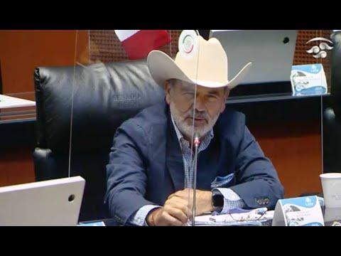 Intervención desde su escaño, del senador Gustavo Madero Muñoz, para referirse a la decisión del gabinete de seguridad del Gobierno federal, de dejar la coordinación con las fuerzas de seguridad estatales de Chihuahua y sesionar de manera independiente